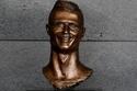 تمثال النجم البرتغالي كريستيانو رونالدو