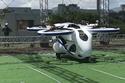 سيارة يابانية طائرة تحلق بنجاح خلال اختبار 3