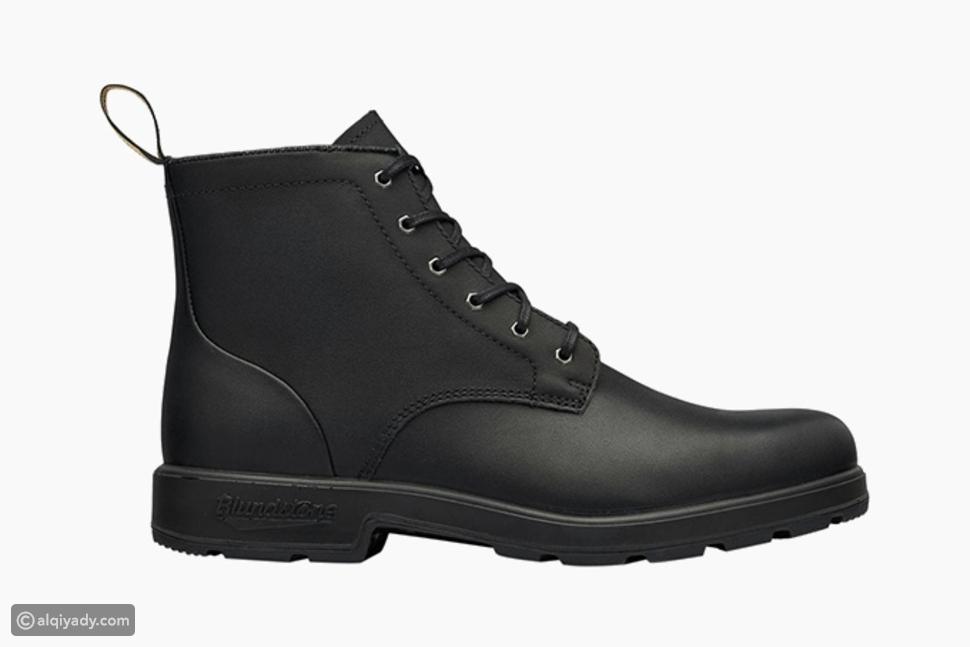 لمحبي الفخامة والقوة: أحذية رجالية سوداء لشتاء 2020