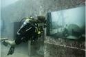 تجربة مذهلة.. معرض للأشباح فقط على متن سفينة عسكرية تحت الماء
