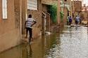 سيول وفيضانات عنيفة اجتاحت السودان في الأيام الماضية