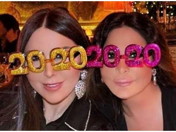 صور: هكذا قضى المشاهير العرب رأس السنة 2020