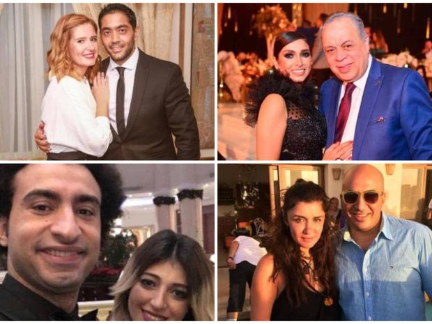 صور: بداية مختلفة للمشاهير في الوطن العربي لعام 2020