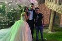 شقيقة الفنان محمد رمضان وزوجها
