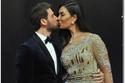 الممثل المصري حسام الجندي وزوجته الفنانة منال الحمروني