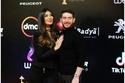 الممثل المصري الشاب حسام الجندي وزوجته الفنانة منال الحمروني