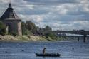 كرملين بسكوف والكنائس المطلة على نهر فيليكي