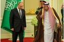 صور:الملك سلمان بن عبدالعزيز يستقبل الرئيس الروسي بوتين في قصر اليمامة