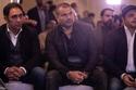 الملحن عمرو مصطفى والمطرب عمرو دياب والفنان محمد هنيدي