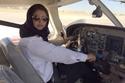 ياسمين الميمني تحقق حلمها وتقود رحلة جوية في المملكة 1
