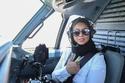 فتاة سعودية تحقق حلمها وتحلق فوق سماء المملكة