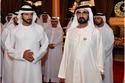بالفيديو: الشيخ محمد بن راشد وولي عهده يشاهدان دبي من ارتفاع 150 متراً