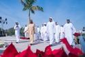 الشيخ محمد بن راشد حاكم دبي وولي عهده في زيارة لبرواز
