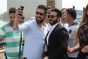 صور: تكريم النجم تامر حسني  بعد مساهمته في دخول مصر موسوعة جينيس