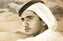محمد بن راشد في شبابه