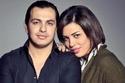 أحمد إبراهيم مع زوجته