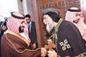 لأول مرة في التاريخ محمد بن سلمان يزور الكاتدرائية المارقسية