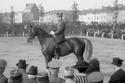 بيرتيل ساندستورم. السويد - الفروسية - لوس أنجليس 1932. مخالفة القواعد في تحفيز الحصان بطرق غير قانونية.