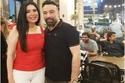 الفنانة عبير صبري وزوجها