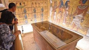 صور: مصر تعيد افتتاح مقبرة توت عنخ آمون بعد تجديدها