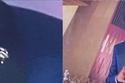 أحمد حلمي زين بدلته الكحلية بدلته السوداء بدبوس يحمل شعار عين حورس