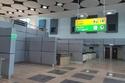 يتكون المطار الجديد من صالة رئيسية وبرج للمراقبة و42 مبنى خدمي،
