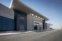 يقع مطار سفنكس غربي القاهرة، بالقرب من منطقة الأهرامات والمتحف الجديد،