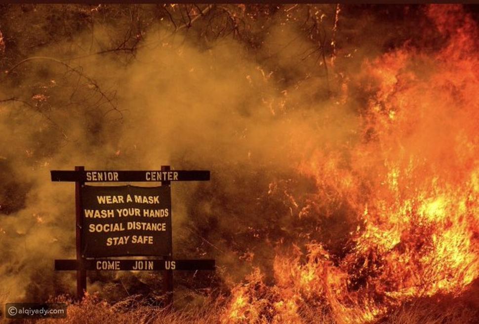 صورة ملخص العام من حرائق كاليفورنيا تشعل الإنترنت