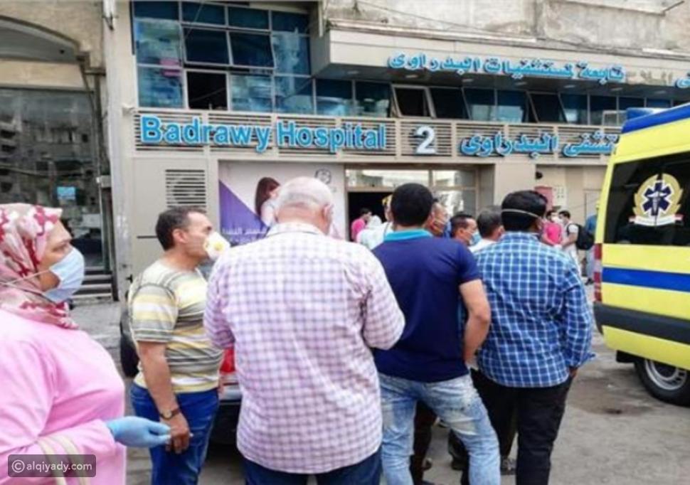 وفاة 7 مرضى بفيروس كورونا إثر حريق بمستشفى مصرية