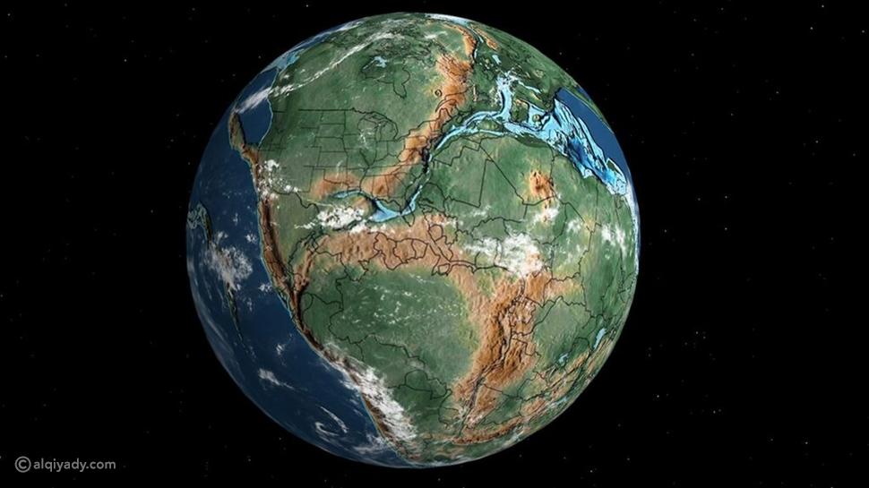 أين يقع مسقط رأسك منذ 750 مليون سنة؟ هذه الخارطة التفاعلية ستجيبك
