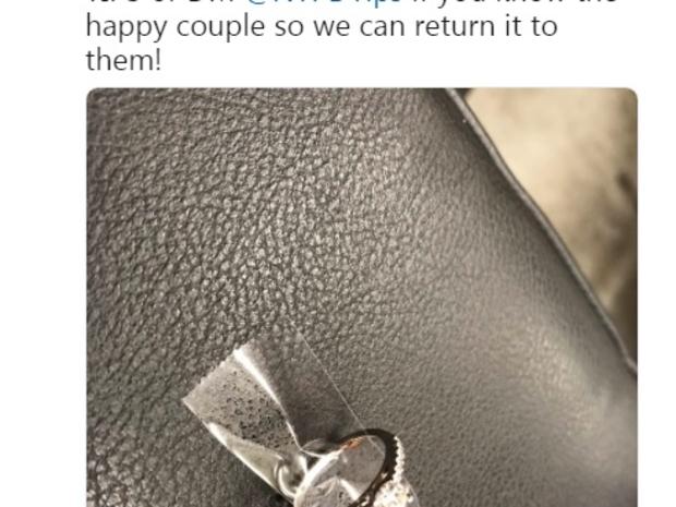صورة الخاتم بعد أن عثرت عليه الشرطة