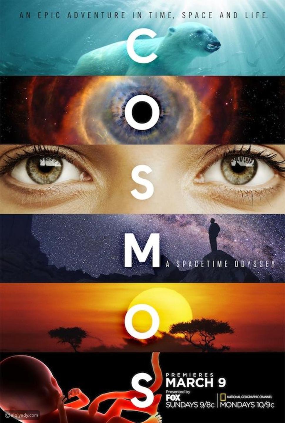 المسلسل العلمي الوثائقي Cosmos: A Spacetime Odyssey