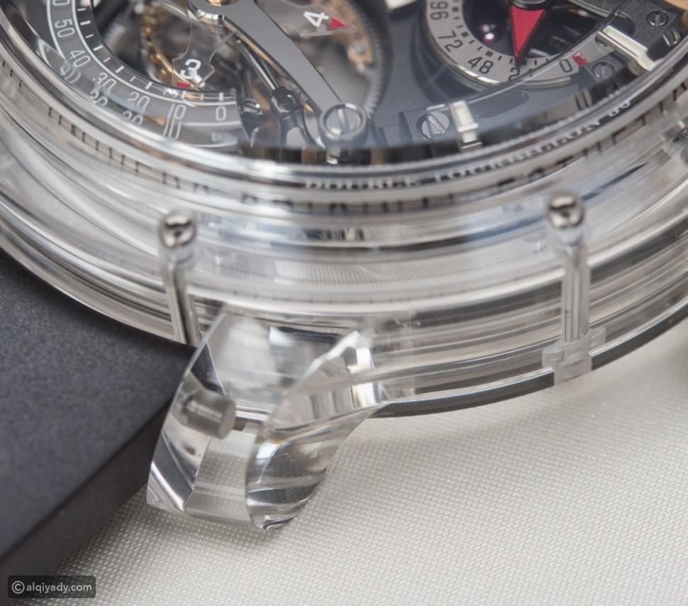 صور ساعة يد شفافة يتجاوز ثمنها المليون دولار.. ما الذي يميزها؟