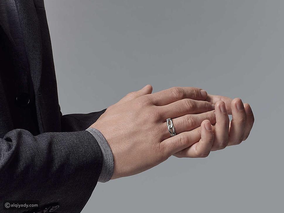 13 خاتم للرجال: العام الجديد يحتاج إلى التألق الخاص
