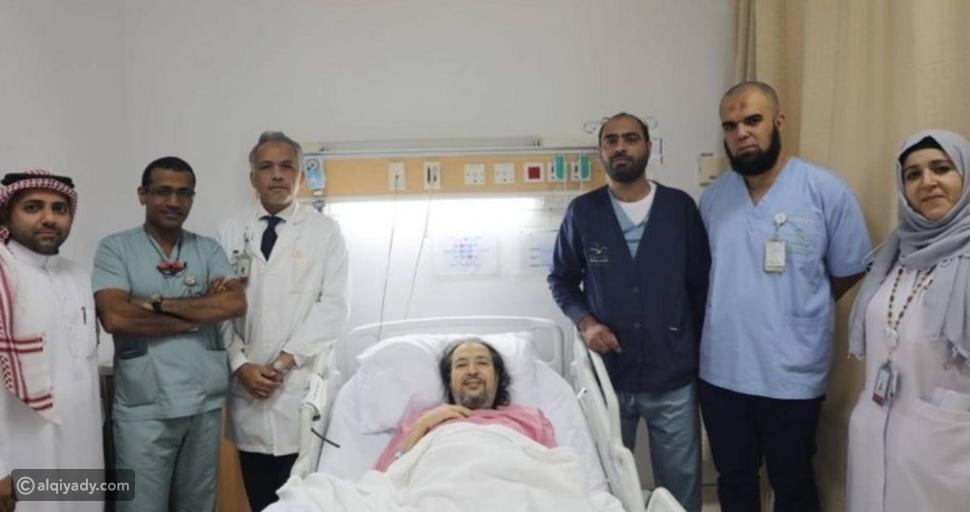 الفنان خالد سامي في المستشفى
