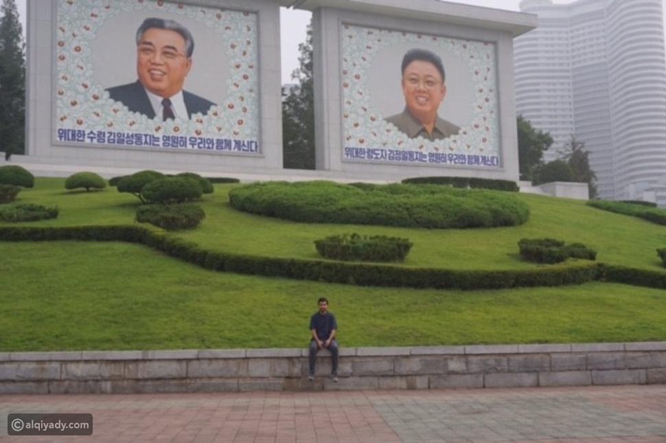 صور سعودي قرر السفر لكوريا الشمالية.. الأهوال بدأت من المطار!