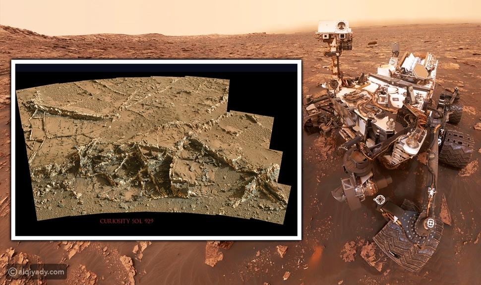 اكتشاف أنقاض مبان غريبة الشكل على سطح كوكب المريخ