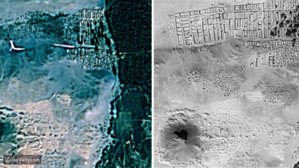 صورة اكتشاف أهرامات جديدة مدفونة تحت الأرض