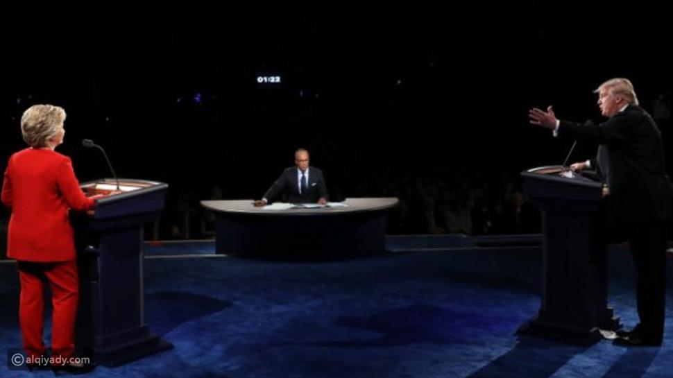 فيديو: أول مناظرة بين هيلاري كلينتون ودونالد ترامب