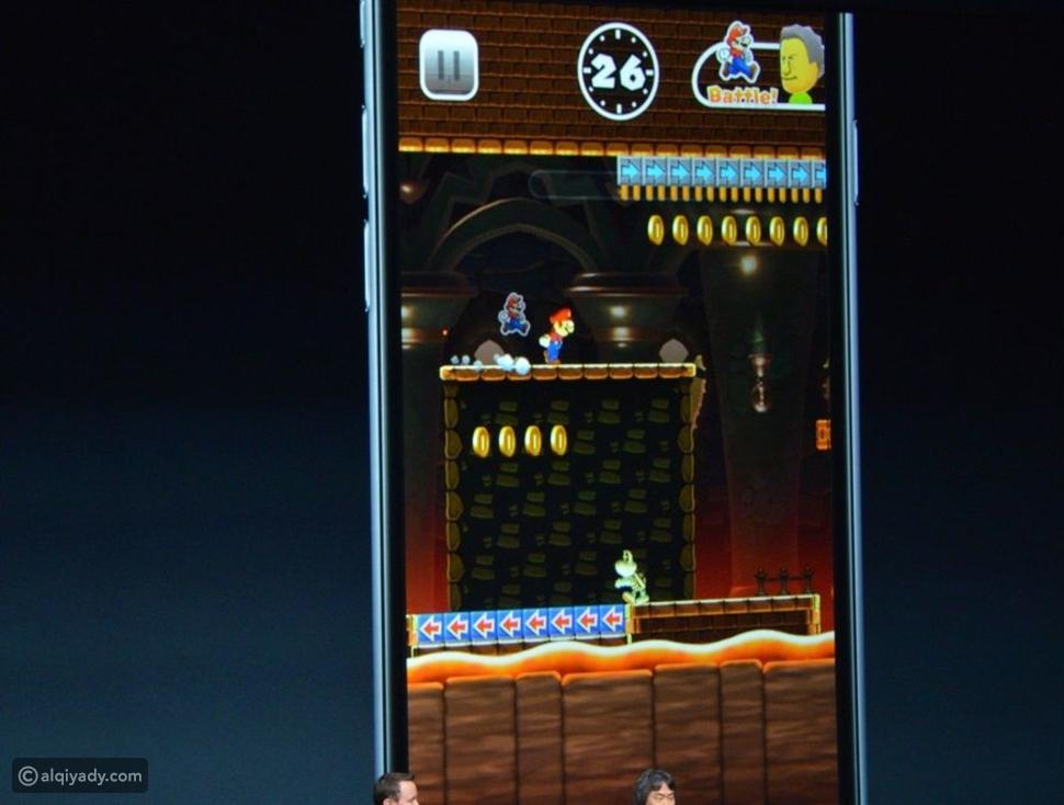 وأخيراً ماريو يظهر على هواتف آيفون