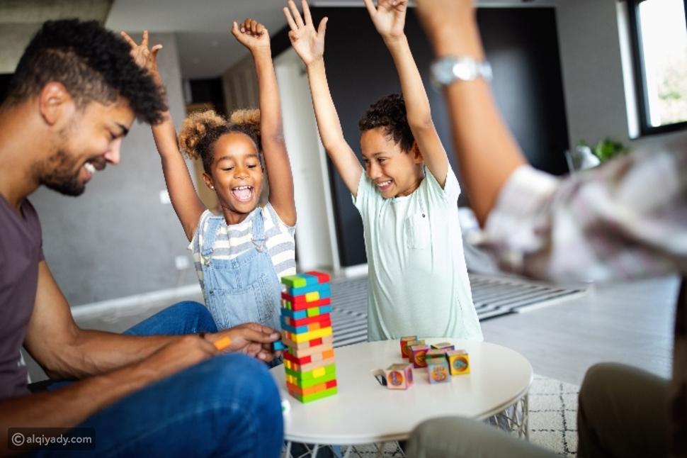 5 ألعاب منزلية يمكنك بنائها مع أطفالك