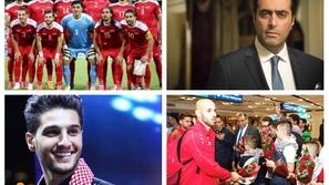 فيديو: هكذا دعم فنانو سوريا وفلسطين منتخبيهما قبل بطولة كأس أمم آسيا
