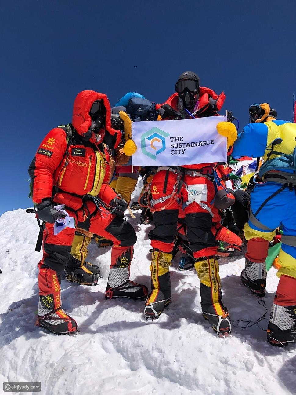 دولورس الشلة أول امرأة عربية تتسلق قمة إيفرست من جرفها الشمالي