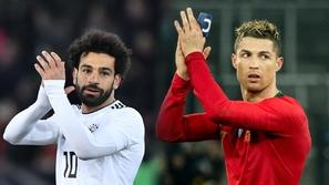 محمد صلاح يتفوق على رونالدو بهذا الرقم في الدوري الإنجليزي