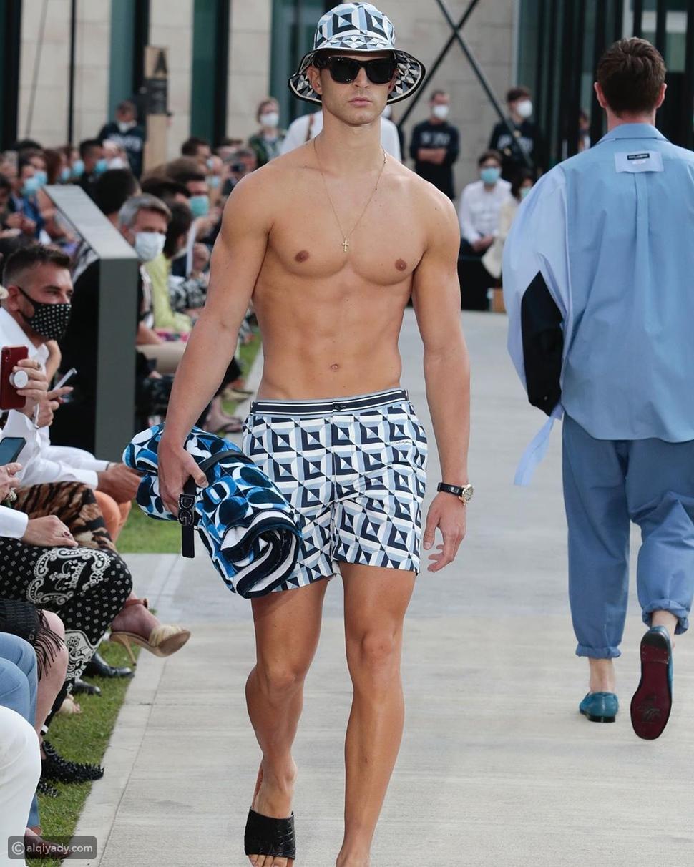 عرض أزياء Dolce & Gabbana لربيع وصيف 2021 للرجال