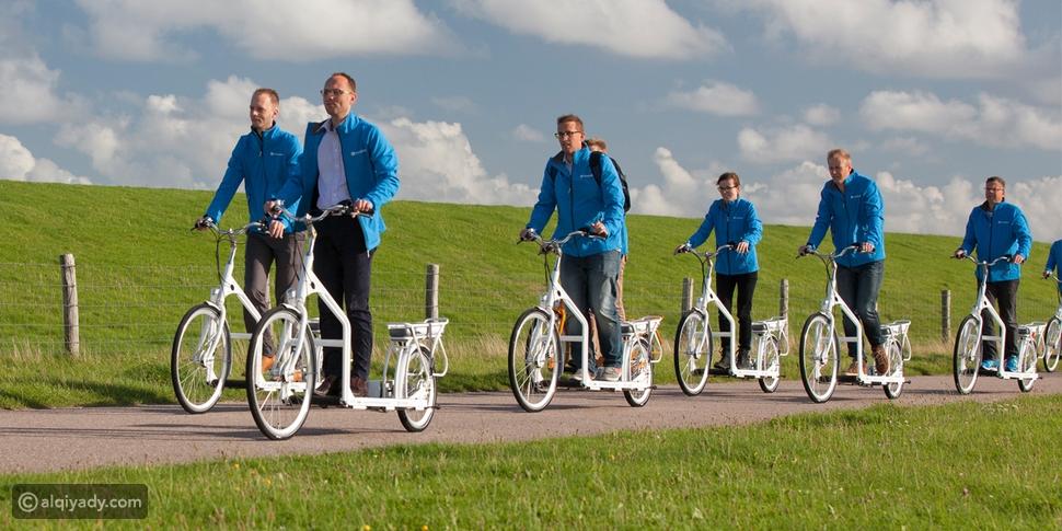 اختراع مبتكر يجمع بين السير وركوب الدراجات .. Lopifit السير بالدراجة