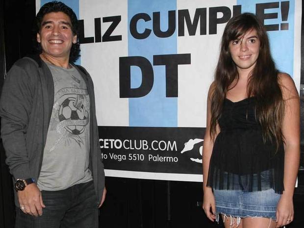 كشفت ابنة مارادونا عن حالته الصحية عقب تعرضه لنزيف داخلي