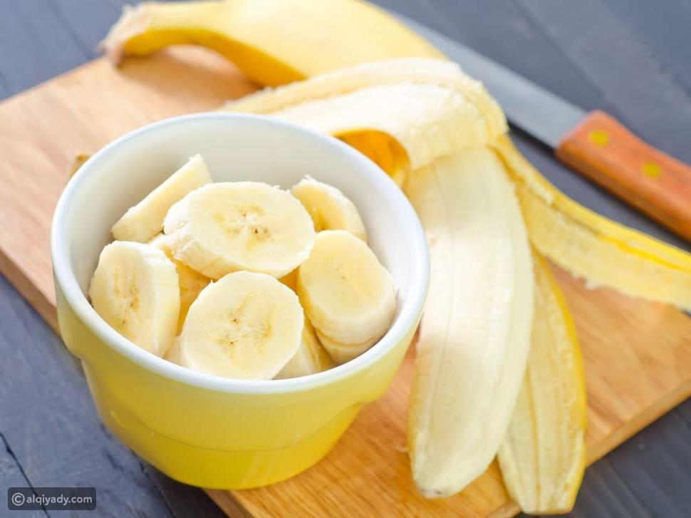 الموز وجبة خفيفة للتمارين الرياضية