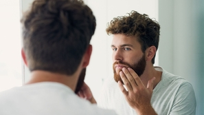 علاج حبوب الذقن عند الرجال