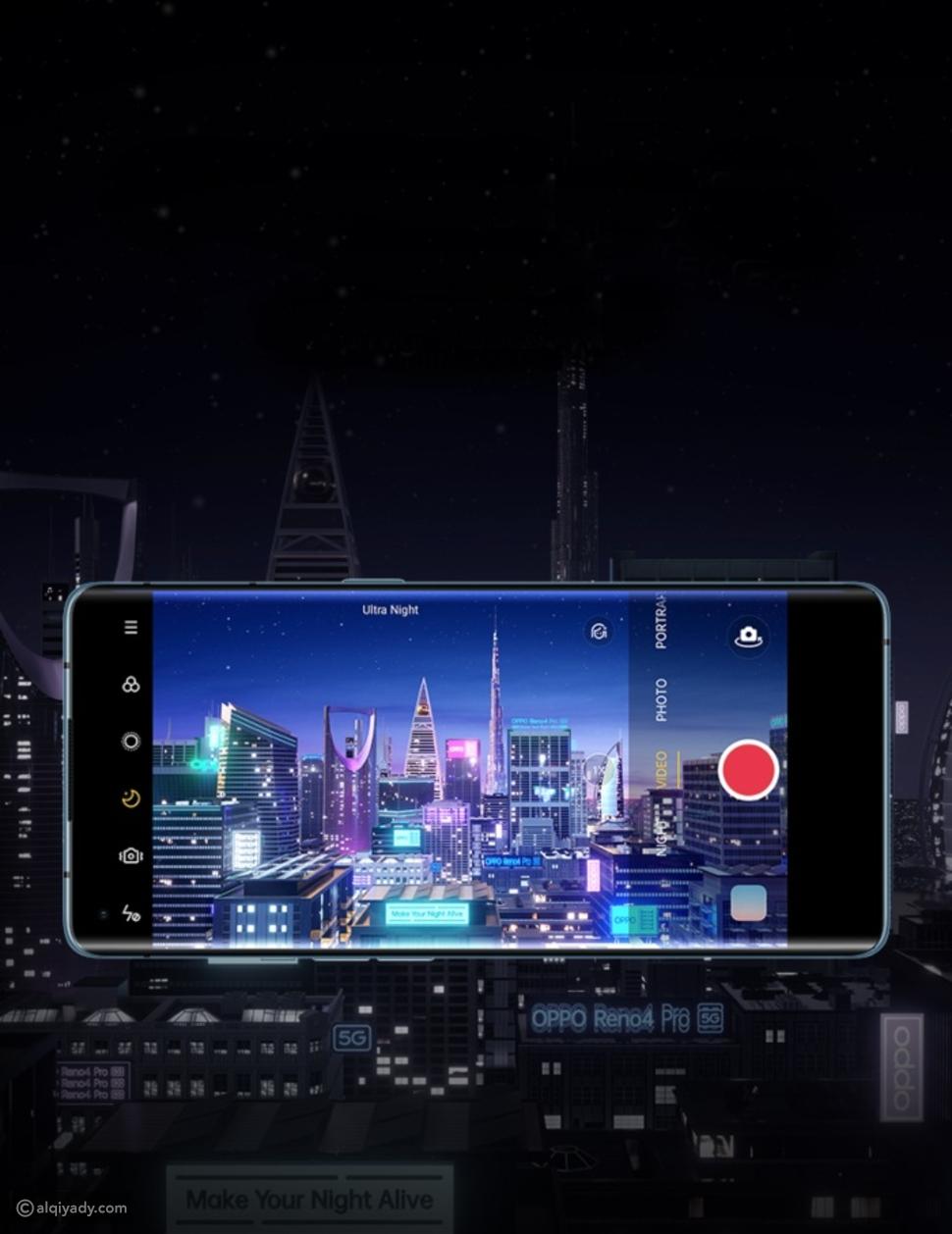 ميزات غير مسبوقة في هاتف رينو4 برو 5G تجعل طلباتك حقيقة في كبسة زر